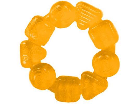 Прорезыватель Bright Starts Карамельный круг желтый с 3 месяцев bright starts прорезыватель динозаврик желтый 52029 2