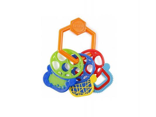 Прорезыватель Oball ключики разноцветный с 3 месяцев прорезыватели oball прорезыватель разноцветные ключики
