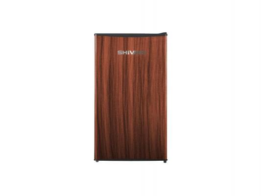 Холодильник Shivaki SHRF-104CHT темное дерево
