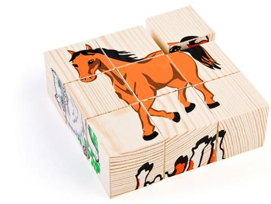 Кубики Томик Кубики Томик Домашние животные 9 шт 4444-3 от 1 года 9 шт 4444-3