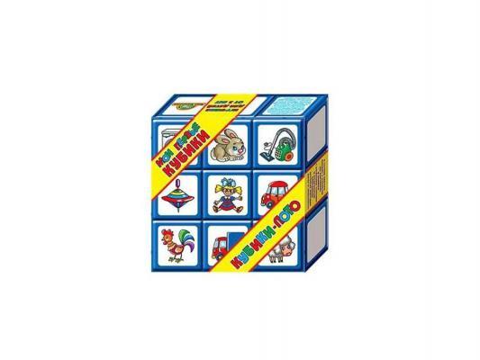 Купить Настольная игра лото Десятое королевство Кубики-лото 00266