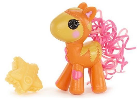 Купить Кукла Lalaloopsy Кукла Бейби Пони оранжевая 529941 7.5 см 529941