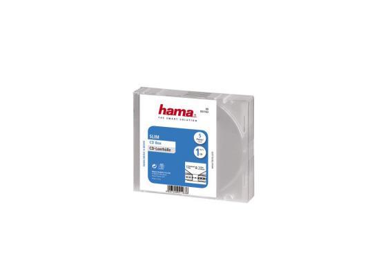 Коробка HAMA для 1 CD прозрачный 5шт H-51163