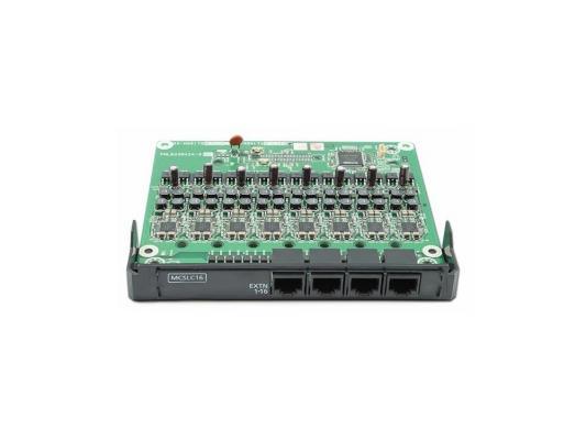 Плата расширения Panasonic KX-NS5174X 16-портовая аналоговых внутренних линий MCSLC16 PRI30/E1 плата расширения panasonic kx ns5130x ведущая плата расширения с 3 мя портами exp m