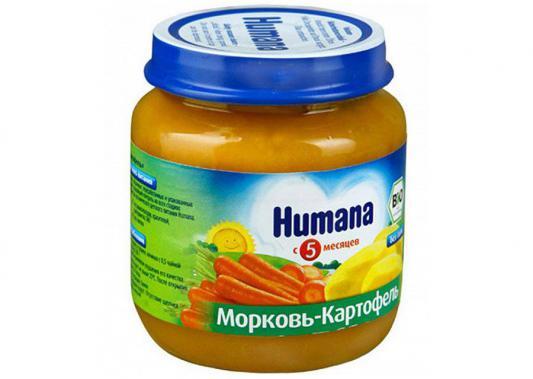 Купить Пюре Humana органическое Морковь и картофель с 4 мес. 125 гр.