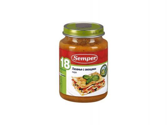 Пюре Semper Лазанья с овощами с 18 мес. 190 гр.