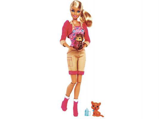 Кукла Barbie Я могу стать: Сотрудник зоопарка 32 см X9077 от 123.ru