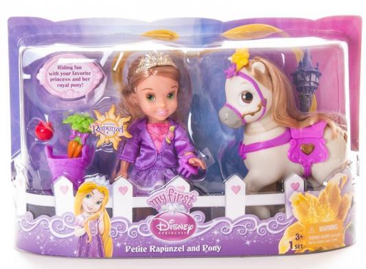 Кукла Disney Принцессы Малышка с конем 15 см в ассортименте