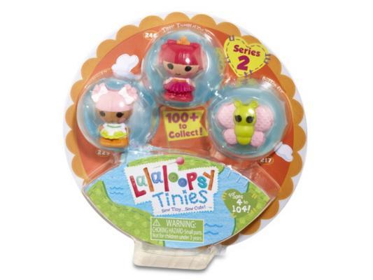Кукла Lalaloopsy Малютки 3 шт в упаковке 4 см 531517 в ассортименте игрушка кукла малютки lalaloopsy упаковка из 3 шт мим маскарад кролик lalaloopsy