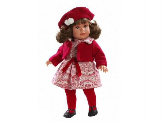 Кукла Llorens Мартина (в красном платье) 40 см