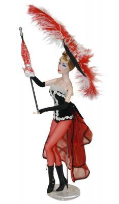 Кукла Madam Alexander Танцовщица из Мулен Руж 41 см 64360 бусы колечки чокер мулен руж текстиль стекло