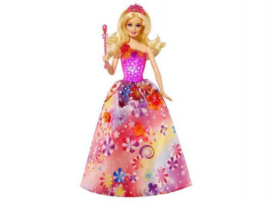 Кукла Barbie Волшебная принцесса 33 см поющая светящаяся CCF79 от 123.ru