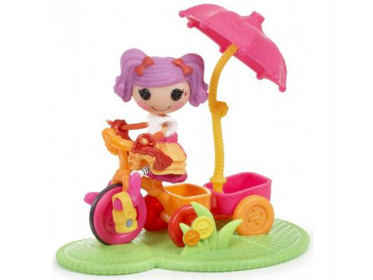 Кукла Lalaloopsy Mini Веселый спорт Велосипед 7.5 см 530411