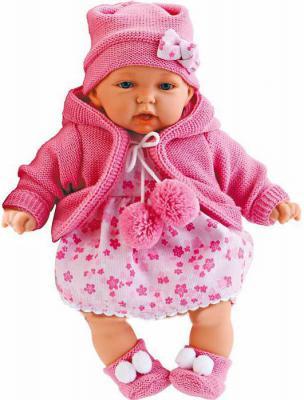 Кукла Munecas Antonio Juan Азалия в ярко-розовом 27 см говорящая 1220C кукла лана брюнетка juan antonio 27 см 1112br