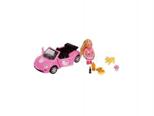 Кукла Simba Еви Hello Kitty на машине с собачкой 5737843