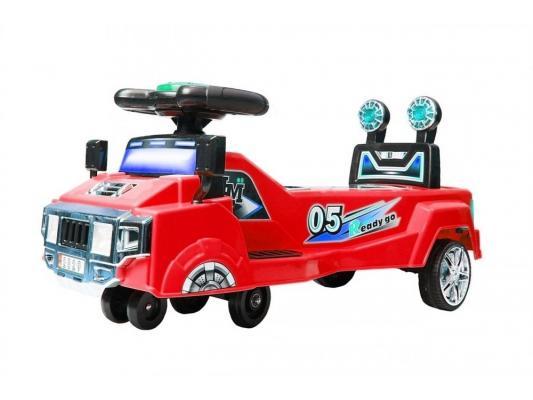 Каталка-машинка Y-Scoo Twister красный от 1 года пластик 2829