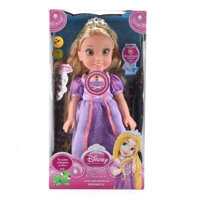 Кукла Карапуз Disney Princess Рапунцель 37 см. RAP001 карапуз кукла рапунцель со светящимся амулетом 37 см со звуком принцессы дисней карапуз
