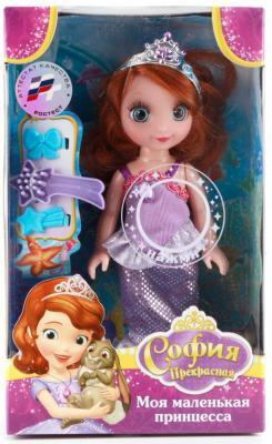 Кукла Карапуз Disney София 15 см. куклы карапуз кукла карапуз принцесса рапунцель 25 см