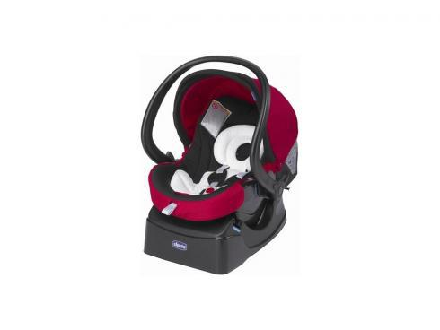 Автокресло Chicco Auto-Fix Fast Baby (red mave)