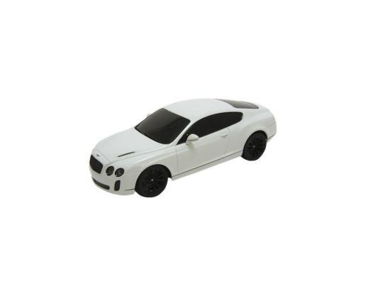 Машинка на радиоуправлении Welly Bentley Continental пластик от 3 лет белый 84003W автомобиль welly bentley continental supersports 1 24 белый 24018