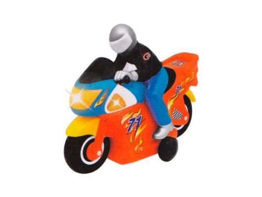 Мотоцикл на радиоуправлении Kiddieland Гонщик пластик от 3 лет красный KID051342 универсальный автомобильный держатель nite ize steelie car mount kit