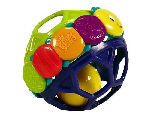 Купить Погремушка Bright Starts Развивающая игрушка Гибкий шарик 8863, разноцветный, унисекс, Погремушки и прорезыватели