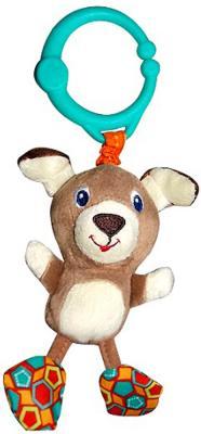 Интерактивная игрушка Bright Starts Дрожащий дружок - Собачка от 3 месяцев коричневый игрушка подвеска bright starts развивающая игрушка щенок