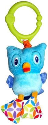 Интерактивная игрушка Bright Starts Дрожащий дружок - Сова от 3 месяцев голубой 8808-6 развивающая игрушка bright starts дрожащий дружок сова с вибрацией 8808 6