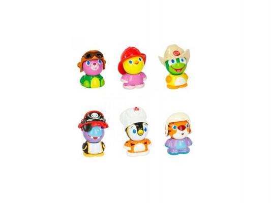 Развивающая игрушка Bright Starts Магнитные друзья (пожарный, ковбой, летчик) 9324