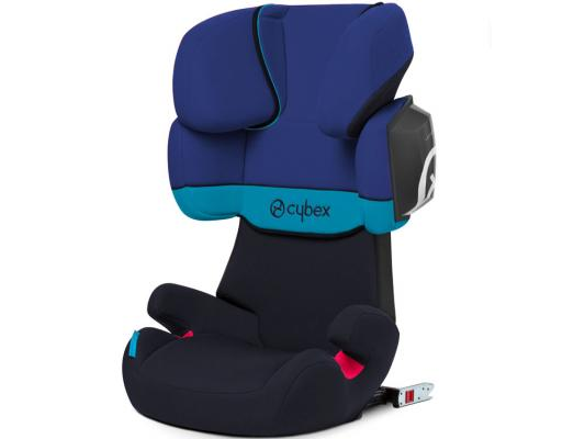 Фото Автокресло Cybex Solution X2-Fix (blue moon)