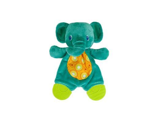 Игрушка-прорезыватель Bright Starts Самый мягкий друг Слоненок зелёный с рождения 8916-2 прорезыватель bright starts слоненок