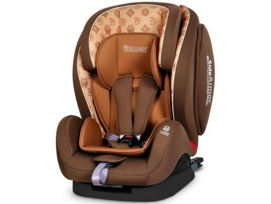 Автокресло Welldon Encore Fit Side Armor & Cuddle Me (hallmarks brown) цена и фото