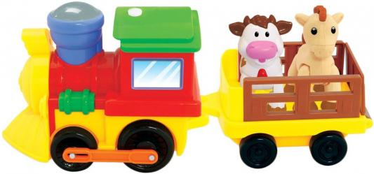 Развивающая игрушка Kiddieland Поезд с животными