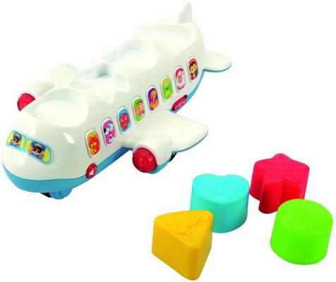 Развивающая игрушка PLAYGO Самолет-сортер 2104 сортеры playgo развивающая игрушка самолет сортер