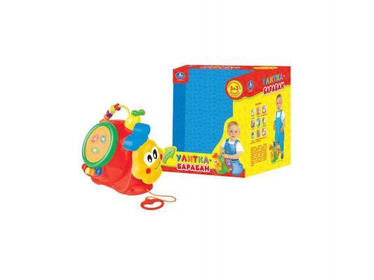 Развивающая игрушка Умка Улитка-барабан BB117-R  - купить со скидкой
