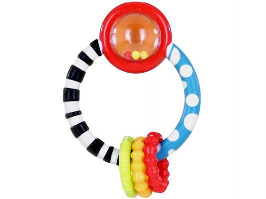 Погремушка-прорезыватель Bright Starts Колечко разноцветный с 3 месяцев