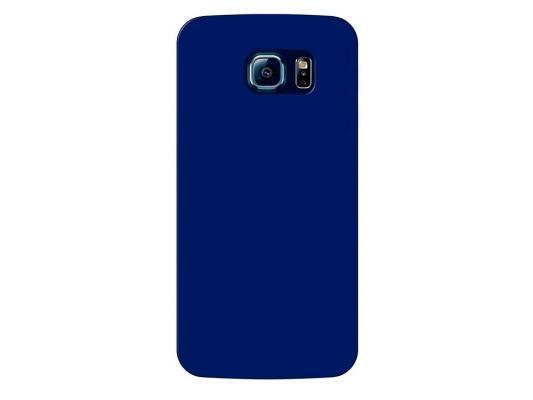 Чехол Deppa Sky Case и защитная пленка для Samsung Galaxy S6 синий 86037