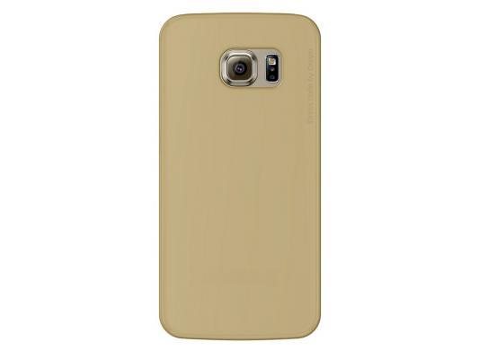 Чехол Deppa Sky Case и защитная пленка для Samsung Galaxy S6 edge золотистый 86042