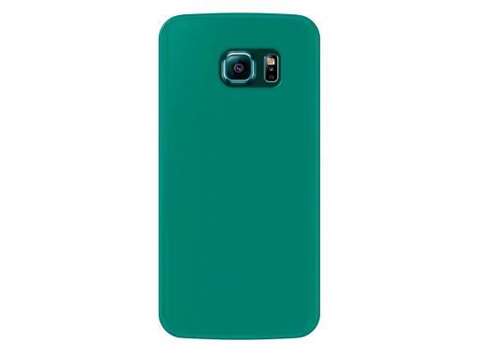 Чехол Deppa Sky Case и защитная пленка для Samsung Galaxy S6 edge зеленый 86044