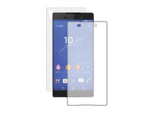 Защитное стекло 0.3 мм прозрачное Deppa для Sony Xperia Z3+ пленка на заднюю панель 61960