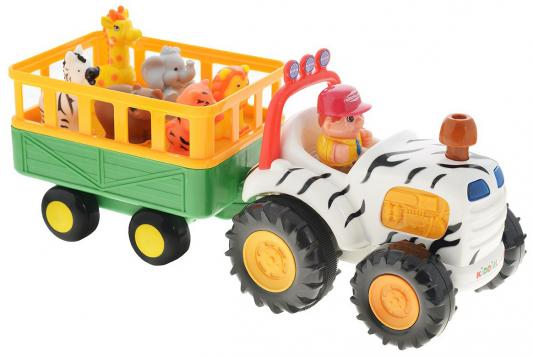 Развивающая игрушка KIDDIELAND тракторСафари 51169