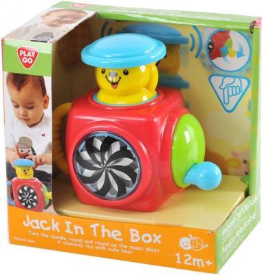 Развивающий центр PLAYGO Музыкальная шкатулка с мишкой 2830 набор для ванной playgo утята 2430