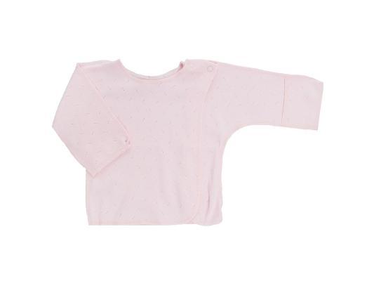 Распашонка детская Lucky Child Ажур, размер 18 (56-62) Розовая шариковая ручка автоматическая sponsor slp005a bu синий 0 7 мм slp005a bu