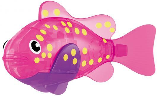 Интерактивная игрушка ZURU РобоРыбка Вспышка от 3 лет розовый 2541F zuru интерактивная игрушка zuru робо змея красная движение