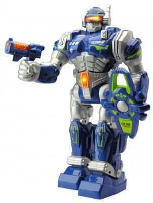 Боевой робот Happy Kid Экстремальный воин — на радиоуправлении двигающийся светящийся со звуком