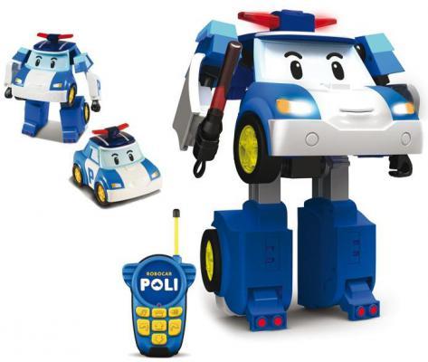 Игровой набор Poli Robocar Робот-трансформер Поли на радиоуправлении от 3 лет PG-83185-IN-02