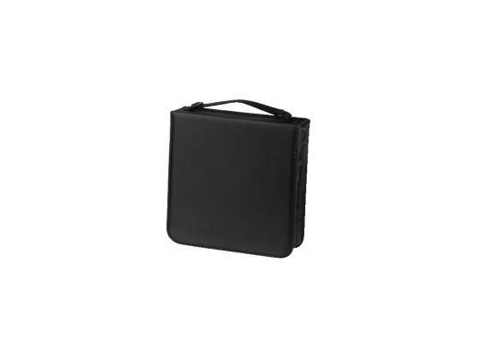 Фото - Портмоне HAMA Nylon для 208 CD черный H-33835 портмоне hama h 33833 черный для 120 дисков [00033833]