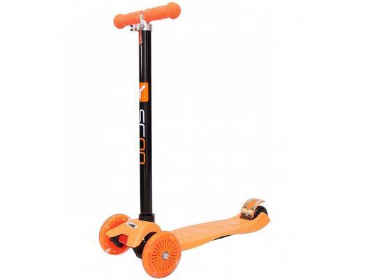 Самокат Y-SCOO Maxi Shine A20 оранжевый