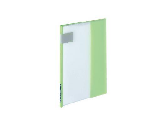 Папка-уголок Kokuyo RA-T1-7 A4 зеленый kokuyo высокая прозрачная офисная сумка книга с документами карманная файловая книга папка с листом бумаги a4 60 страниц желтый wcn tcb2610y