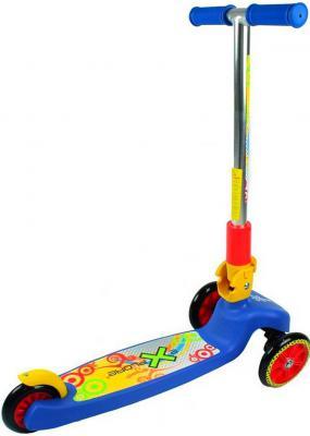 "Самокат Explore Super Tredia Rich toys 5""/4"" синий"